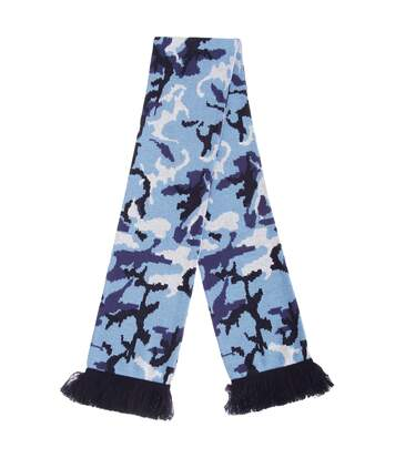 Floso - Echarpe À Motif Camouflage - Adulte Unisexe (Bleu) (Taille unique) - UTSK267