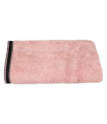 Atmosphera - Drap de bain Drap de douche Rose Tissu éponge 70 x 130 cm