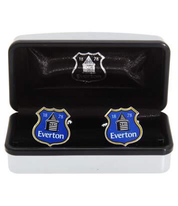 Everton Fc - Boutons De Manchette Officiels (Bleu) - UTSG1295