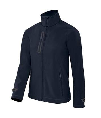 B&C Womens/Ladies X-Lite 3 Layer Softshell Jacket (Navy) - UTRW3012