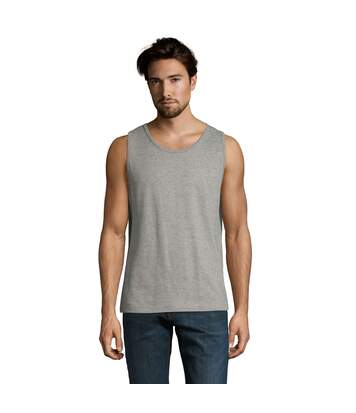 SOLS Mens Justin Sleeveless Tank / Vest Top (Grey Marl) - UTPC312