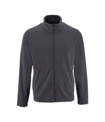 SOLS Mens Norman Fleece Jacket (Charcoal) - UTPC3210