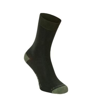 Craghoppers - Chaussettes Insectifuges Nosilife - Homme (Vert Kaki) - UTCG289