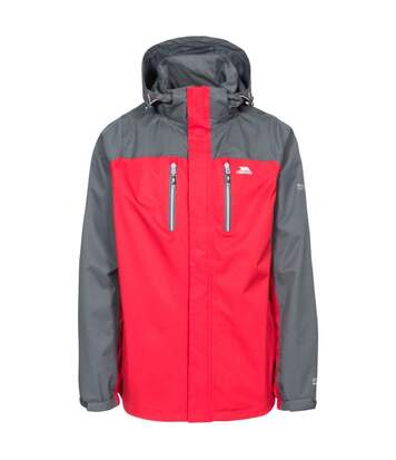 Trespass Mens Wooster Waterproof Jacket (Red) - UTTP4064