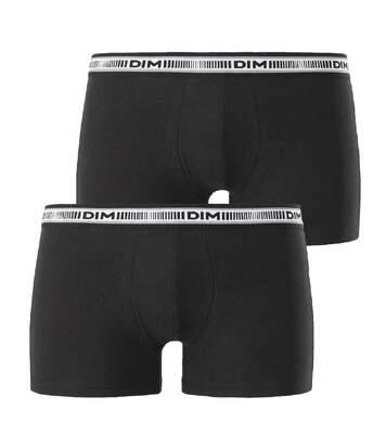 Lot de 2 boxers noirs DIM BO MPK 3D.FLEX