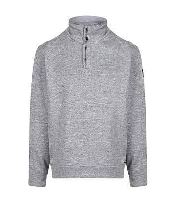 Regatta Mens Lardner Buttoned Fleece (Light Steel) - UTRG4187