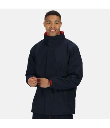 Regatta Mens Standout Ardmore Jacket (Waterproof & Windproof) (Navy/Classic Red) - UTBC3041