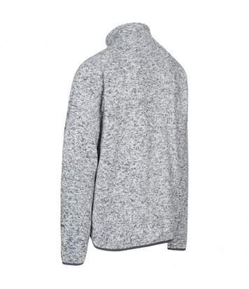 Trespass Mens Wallow Full Zip Fleece Jacket (Grey Marl) - UTTP4023