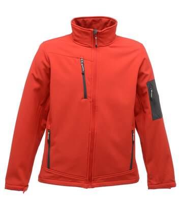 Regatta - Veste Softshell Arcola - Homme (Rouge/gris foncé) - UTRG1461