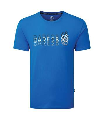 Dare 2B Mens Focalize Print T-Shirt (Athletic Blue) - UTRG5024