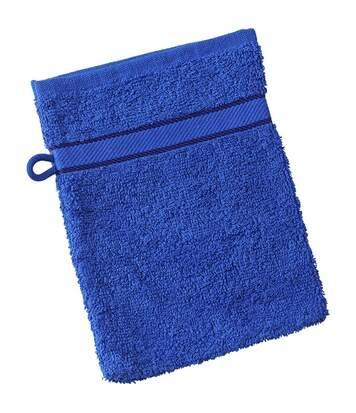 Gant de toilette - éponge - MB435 - bleu roi