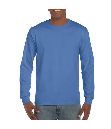 Gildan Mens Long Sleeve Hammer Shirt (Chambray) - UTBC4573