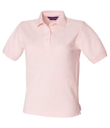 Henbury Womens/Ladies 65/35 Polo Shirt (Pink) - UTRW626
