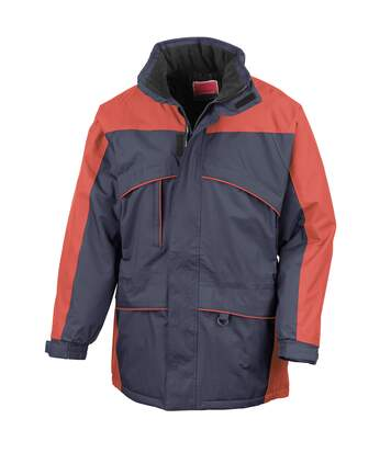 Result Mens Seneca Midweight Performance StormDri Waterproof Windproof Jacket (Navy/Red) - UTBC940