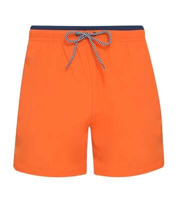 short de bain pour homme - AQ053 orange
