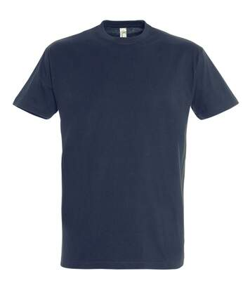 SOLS Mens Imperial Heavyweight Short Sleeve T-Shirt (Navy) - UTPC290