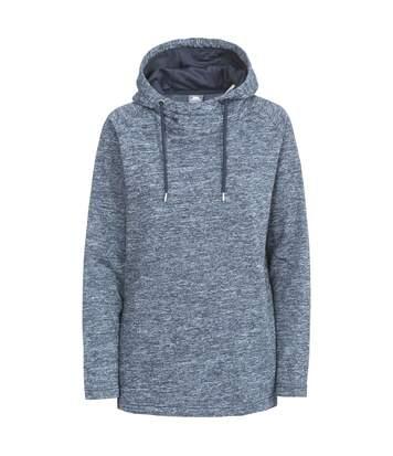 Trespass Womens/Ladies Stumble Hooded Fleece (Navy Marl) - UTTP4034