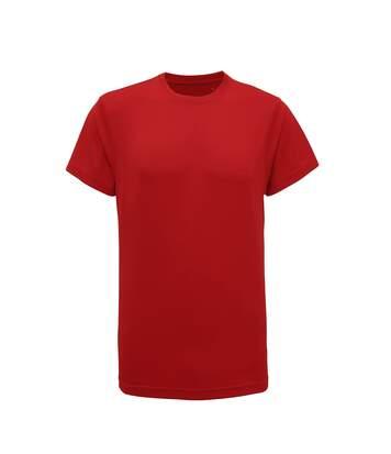 Tri Dri Mens Short Sleeve Lightweight Fitness T-Shirt (Fire Red) - UTRW4798