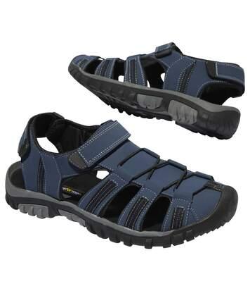 Outdoorové sandály se zapínáním na suché zipy