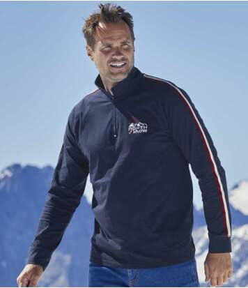 2er-Pack Poloshirts North Snow mit RV-Kragen