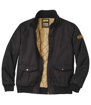 Men's Black Outdoor Jacket