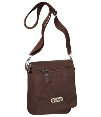 Men's Brown Canvas Holster Bag