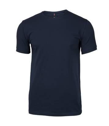 Nimbus Mens Danbury Pique Short Sleeve T-Shirt (Navy) - UTRW5655