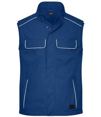 Gilet de travail léger softshell - JN881 - bleu roi