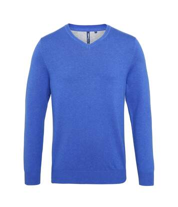 Asquith & Fox - Pull En Coton À Col V - Homme (Bleu marine) - UTRW5188