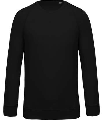 Sweat shirt coton bio - Homme - K480 - noir