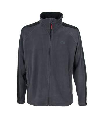 Trespass Mens Acres Full Zip Fleece Jacket (Flint) - UTTP253