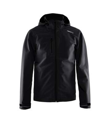 Craft Mens Light Waterproof Softshell Jacket (Black) - UTRW5553