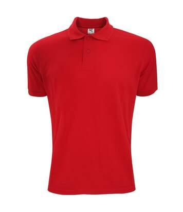 SG Mens Polycotton Short Sleeve Polo Shirt (Red) - UTBC1084