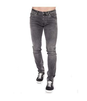 Jeans gris homme Teddy Smith Runing Reg