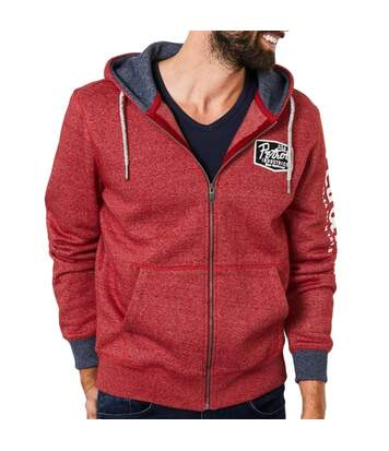 Sweat Zippé Rouge Petrol Industries Hooded
