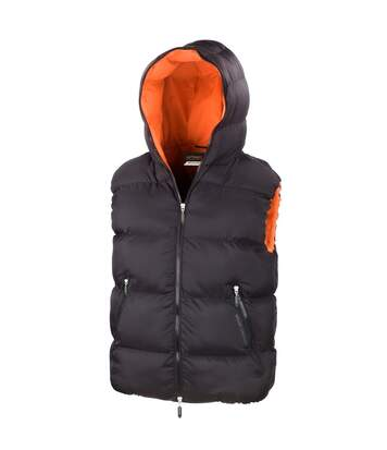 Result Mens Dax Urban Outdoor Gilet Waterproof Windproof Jacket (Black) - UTBC889