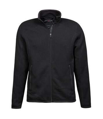 Tee Jays Mens Aspen Full Zip Jacket (Black) - UTBC3332