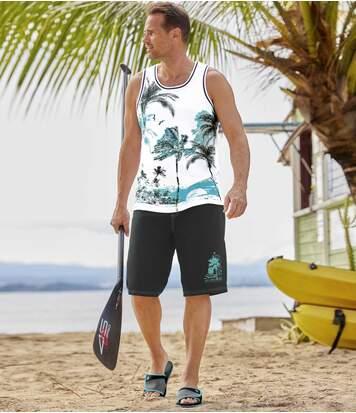 Plážové pantofle Tropical
