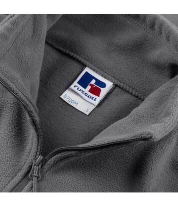 Russell Mens Full Zip Outdoor Fleece Jacket (Convoy Grey) - UTBC575