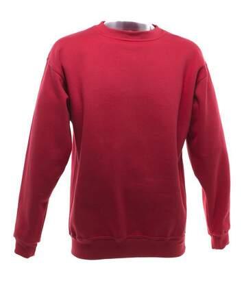 Ucc - Sweatshirt Uni Épais - Adulte Unisexe (Rouge) - UTBC1193