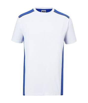 T-shirt de travail manches courtes - Homme - JN860 - blanc