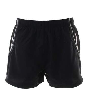 Gamegear® Cooltex® Mens Active Training Shorts / Mens Sportswear (Black / White) - UTRW3168