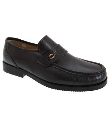 Tycoons - Mocassins Larges - Homme (Noir) - UTDF657
