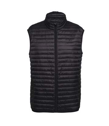 2786 Mens Tribe Fineline Padded Gilet/Bodywarmer (Black) - UTRW5016