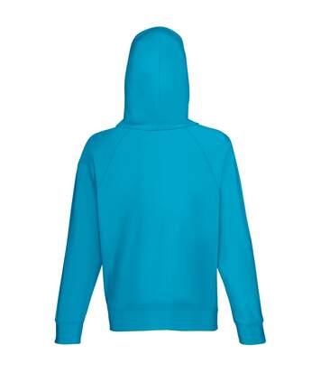 Fruit Of The Loom - Sweatshirt À Capuche Léger - Homme (Bleu azur) - UTBC2654