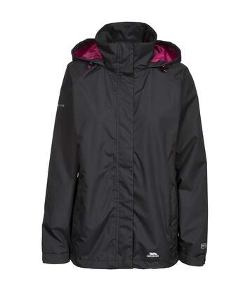Trespass Womens/Ladies Lanna II Waterproof Jacket (Black) - UTTP3279