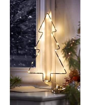Weihnachtsbaum mit 20er-LEDLichterkette