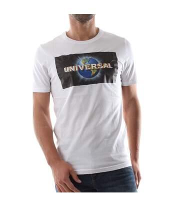 T-shirt Blanc Homme Jack&Jones Couniverse