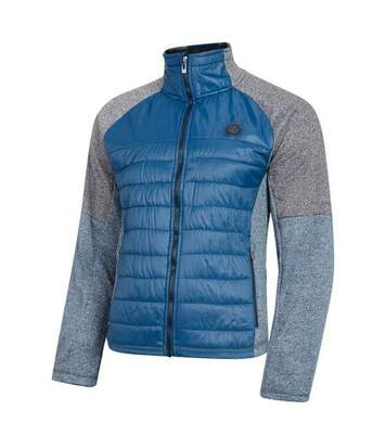 Dare 2b Mens Sparked Stretch Midlayer (Admiral Blue/Charcoal) - UTRG4853