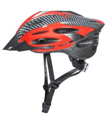 Trespass Crankster - Casque De Cyclisme - Adulte Unisexe (Rouge) (L/XL) - UTTP403